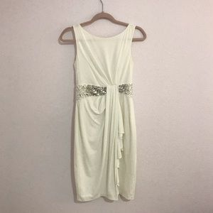 Maggy London dress in ivory